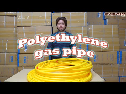 PE Gaspipe and Everything You Need to Install It