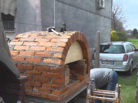 Forno a legna artigianale youtube for Forno a legna in mattoni refrattari