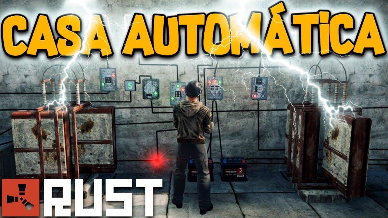 Rust Vanilla 🏰 Casa Automática | PARTE FINAL