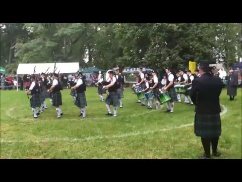 Owl Town Pipe & Drum Band - Grade 4 - Trebsen 2015