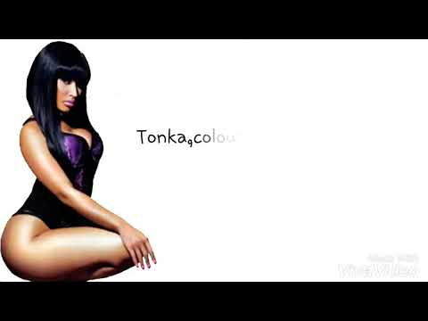 Nicki Minaj - Monster (Lyrics on Screen!)