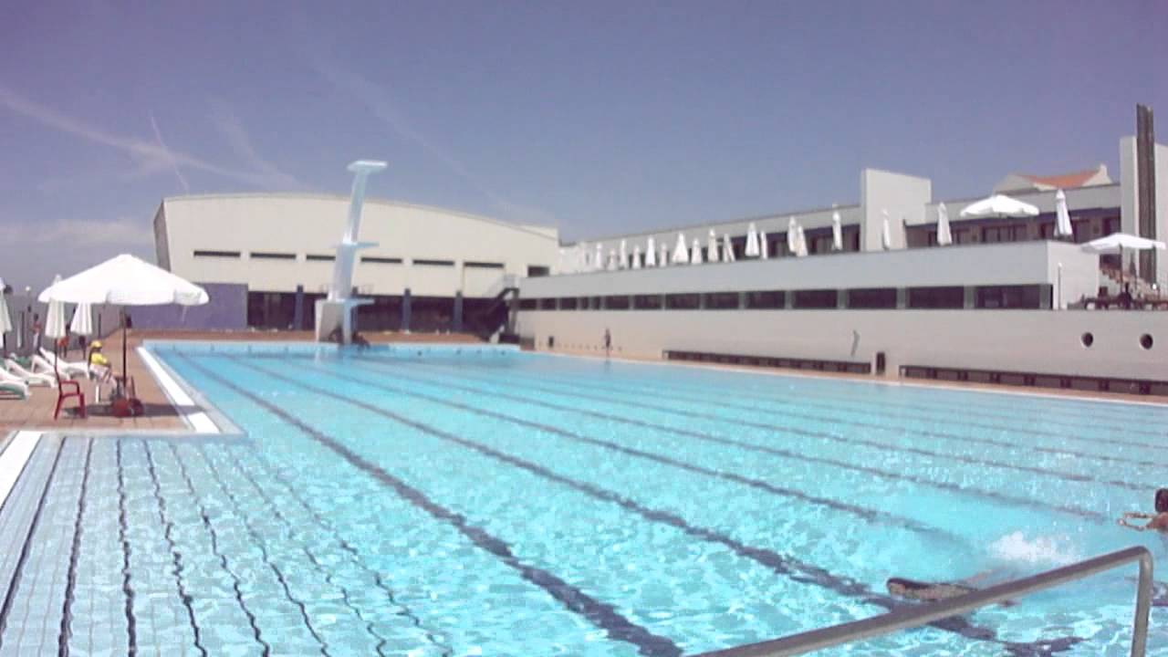 Espinho olympic pool youtube for Piscina 4 x 3