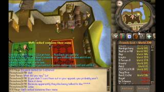Runescape 2007 Teak Tree Cutting Guide 2 methods!!! [COMMENTARY] Old School OSRS