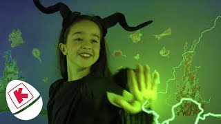 Maleficent Pranks Belle With Fake Cakes - Princesses In Real Life | WildBrain Kiddyzuzaa