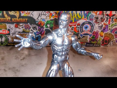CUSTOMIZING SILVER SURFER IN UNDER 10 MINUTES!