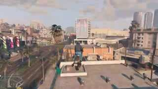 GTA V | Easy stunt mod is activated! #1