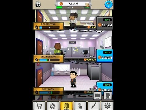 Office Space - idle Profits iOS Gameplay - Part 1