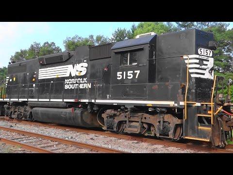 Norfolk Southern Trains In Shenandoah Junction, WV