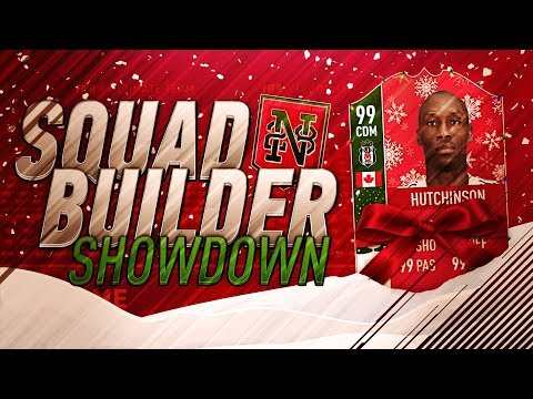 SQUAD BUILDER SHOWDOWN vs AJ3!! DISCARDING AN ICON?!? Advent Calendar Day 4 - FIFA 18 Ultimate Team