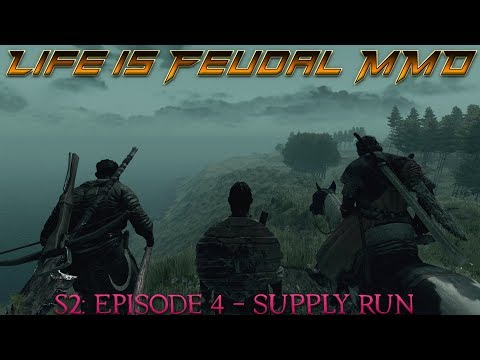 Life is Feudal: MMO - S2| Episode 4: Supply Run - Master ⚒Blacksmith (1080p) 60FPS