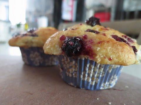 Berry Jam Swirl Muffins
