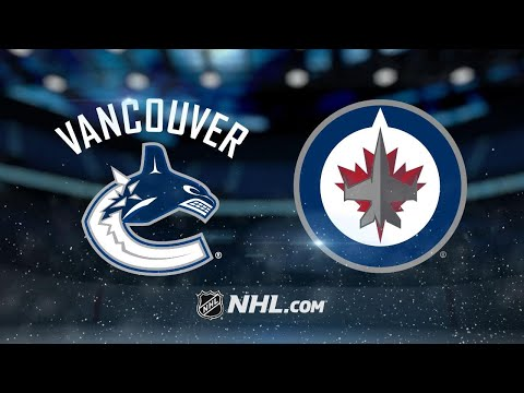 Perreault, Hellebuyck lead Jets to win vs. Canucks