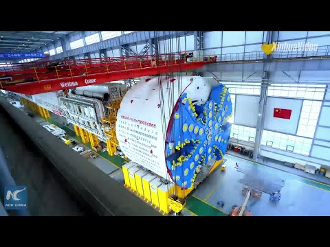 China delivers tunnel boring machines for Singapore metro project