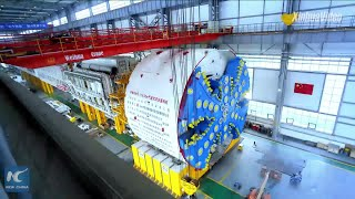 Baixar China delivers tunnel boring machines for Singapore metro project
