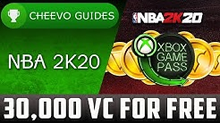 NBA 2K20 - 30,000 VC for FREE **XBOX GAME PASS**