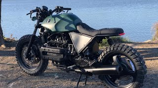 BMW Scrambler Full Timelapse Build (K1100)