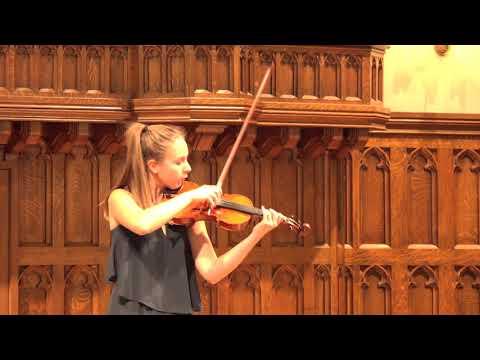 Allison Smith  Bach Partita No. 2, Chaconne