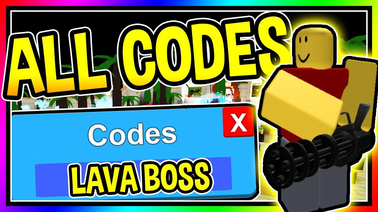 All 4 New Tower Defense Simulator New Lava Boss Update Roblox