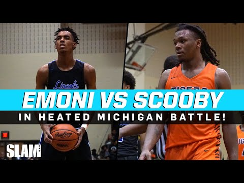 Emoni Bates vs Scooby Johnson in HEATED Michigan Battle! 🔥
