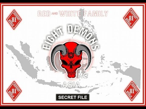 EIGHT DEMONS MC INDONESIA 4TH ANNIVERSARY #SUPPORT81WORLD