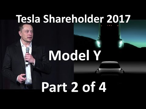 Elon Musk at Tesla Annual Shareholder Meeting - 2017-06-06 [Part 2 of 4]