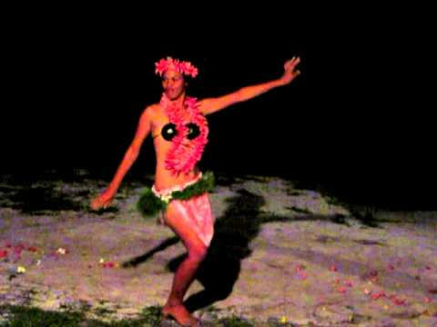 Polynesian Dancers- Aitutaki, Cook Islands