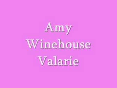 Amy winehouse valarie youtube