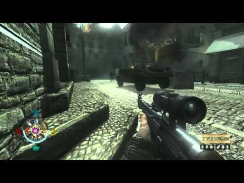 Let's Play Wolfenstein (2009) - 17 Downtown