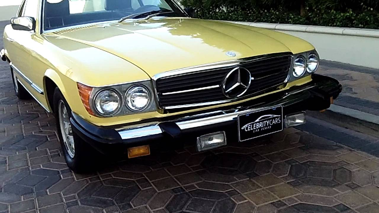 1979 mercedes benz 450sl for sale at celebrity cars las for 1979 mercedes benz 450sl for sale