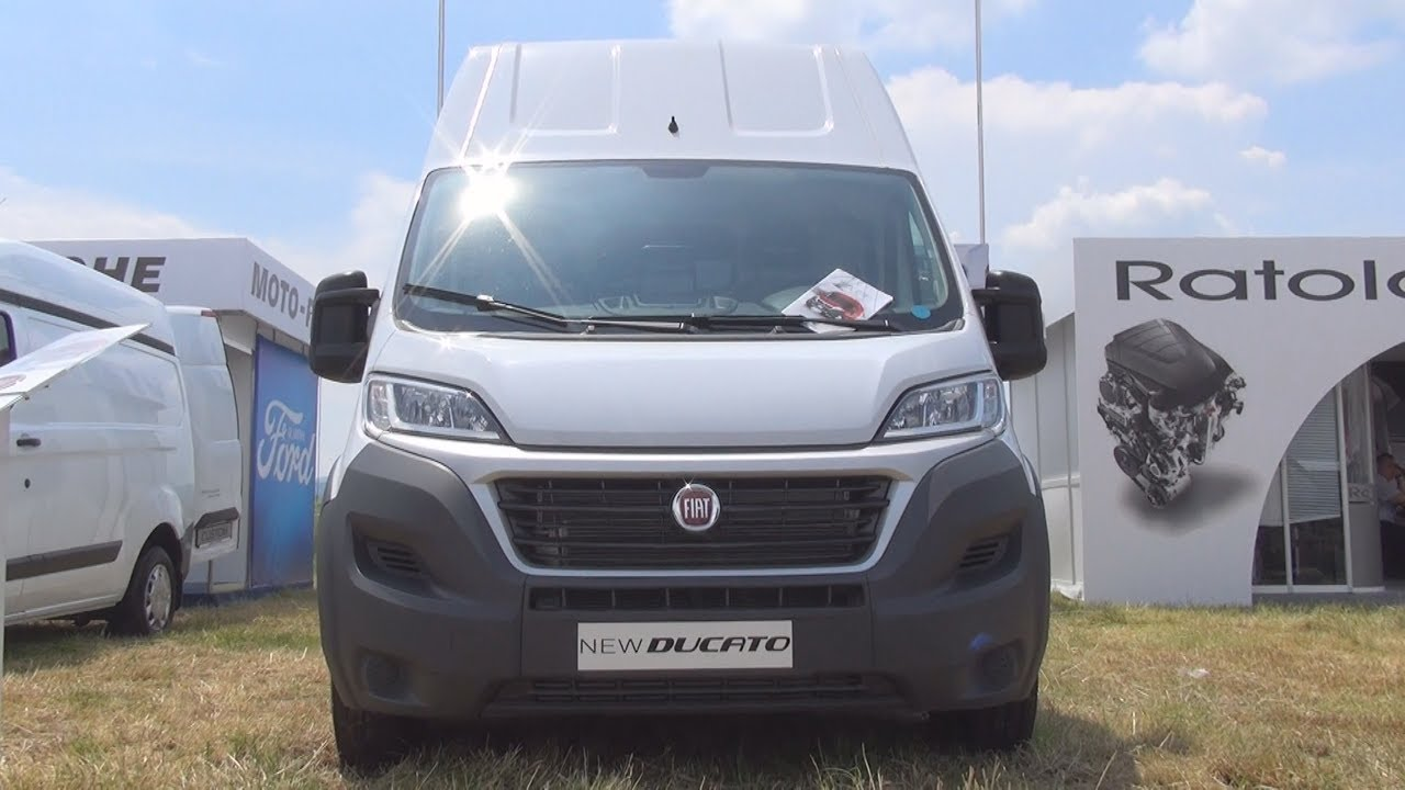 fiat ducato maxi 2 3 pll h3 panel van 2017 exterior and interior youtube. Black Bedroom Furniture Sets. Home Design Ideas