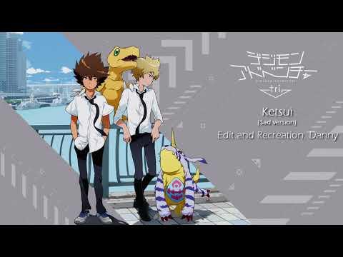 Digimon Adventure tri. OST - Ketsui (Sad Version)