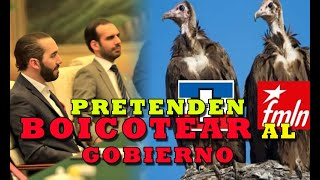 MATRIMONIO ARENA Y FMLN pretende desaf0rar al presidente