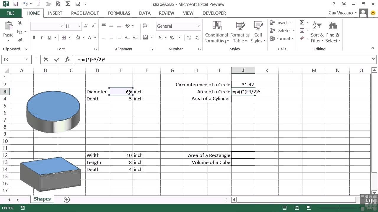 Advanced microsoft excel 2013 tutorial area and volume tired of ads falaconquin