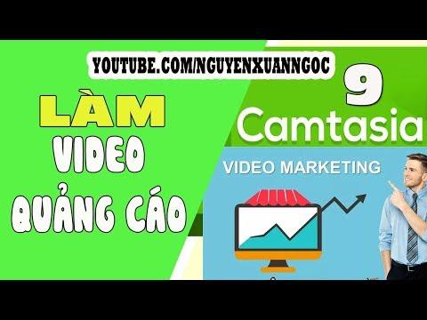 Hướng dẫn Camtasia 9 - Cách làm video quảng cáo sản phẩm bằng Camtasia 9