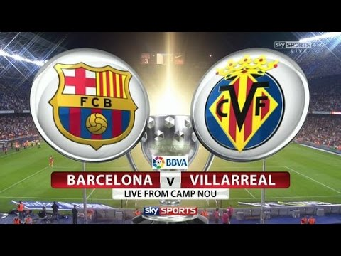 Fc barcelona vs villarreal live match camp nou massive giveaway youtube - Apartamentos dv barcelona ...