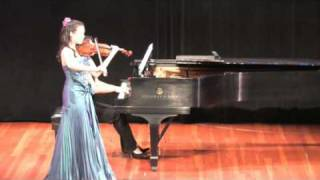 Ponce-Heifetz  Estrellita(my little star) Rebecca Yip,Violin Juilliard Pre-College