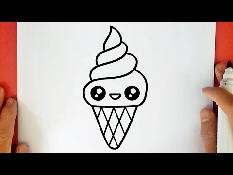 Comment Dessiner Une Glace Kawaii Youtube