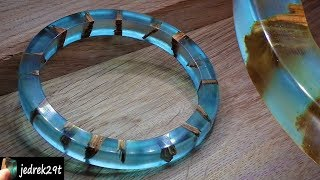 How to make a BRACELET. Resin and Wood. DIY.