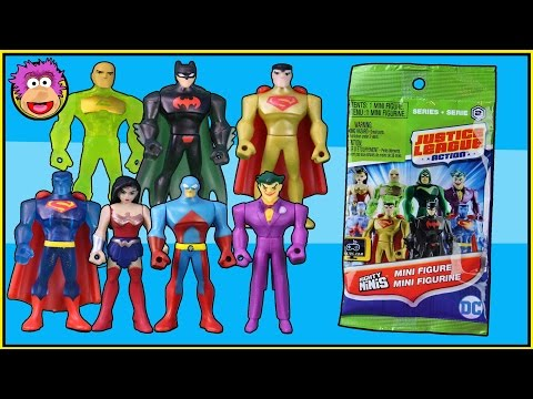Justice League Action Blind Bags Series 2 Codes and Opening JLA - Batman and Robin @ OzToyReviews