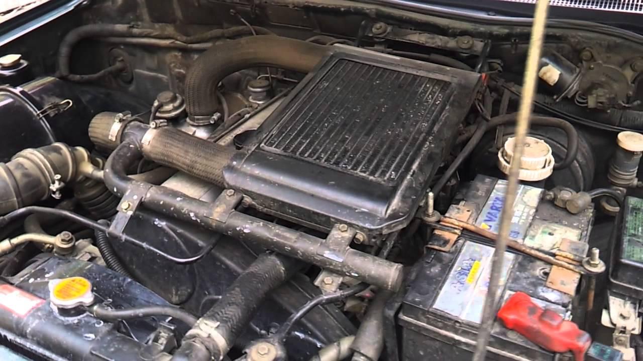 Mitsubishi L200 2 5 Td Arranque Y Sonido Motor Youtube