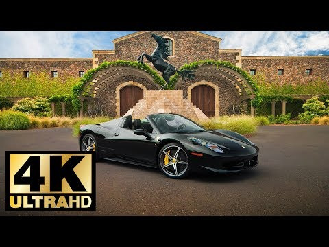 Exotic Cars 4K UltraHD Slideshow 2018