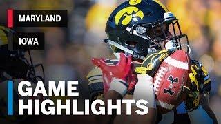 Highlights: Maryland At Iowa   Big Ten Football