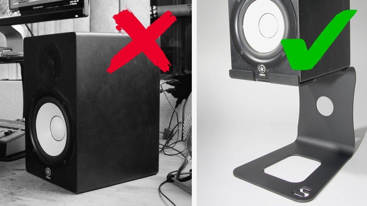 3 Reasons To Raise Your Desktop Speakers Youtube