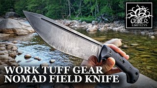 Field Testing the Prototype: NOMAD Field Knife!