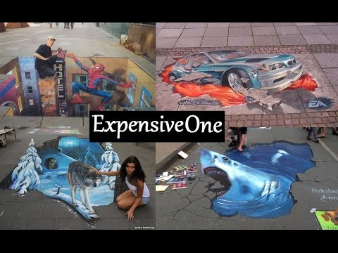 Top 27 Best 3D Street Art Painting photos new