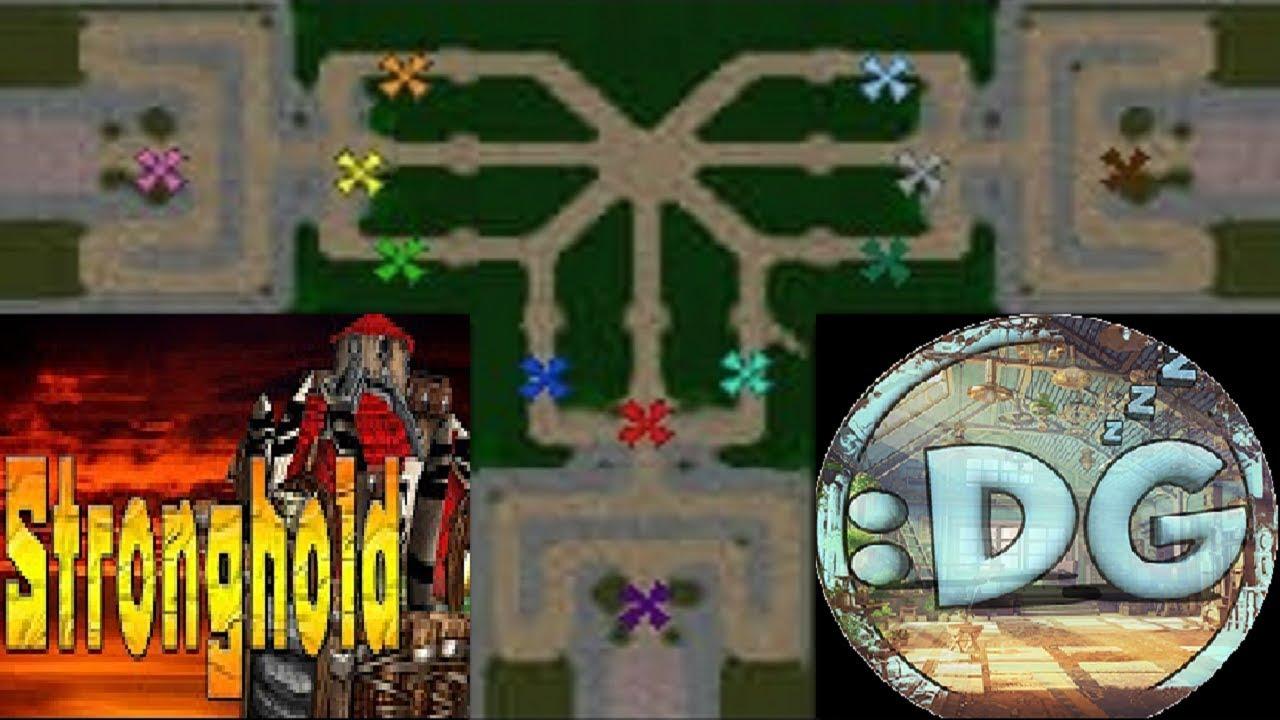 Warcraft 3 | STRONGHOLD KYAD custom map | Tower Defense gameplay