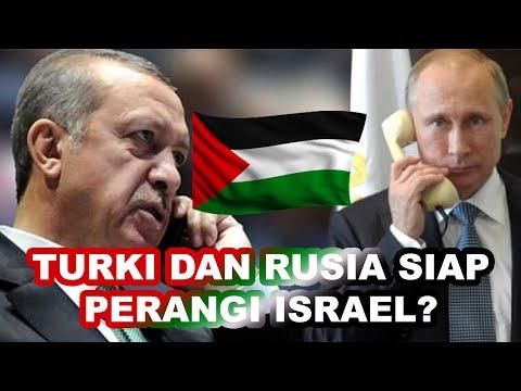 MEMANAS ERDOGAN TELEPON PRESIDEN RUSIA VLADIMIR PUTIN UNTUK BERI PELAJARAN KE ISRAEL