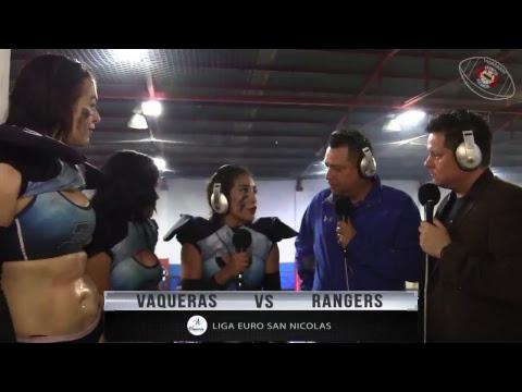 Vaqueras de Monterrey  Vs  Rangers de Mérida Diablo Squad