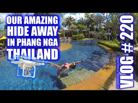 Our amazing hide away in Phang Nga Thailand - Vlog # 220