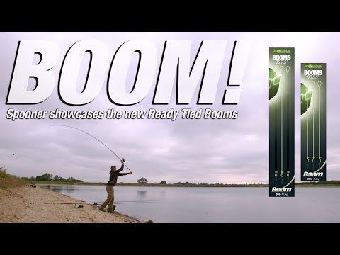 BOOM! Spooner showcases Korda Ready Tied Booms